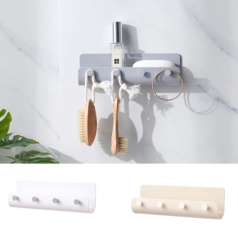Home Door Hanger Wall Mount Hooks Key Holder Rack Post Organizer Letter Box Mail Household Storage Practical Eco-Friendly Tool