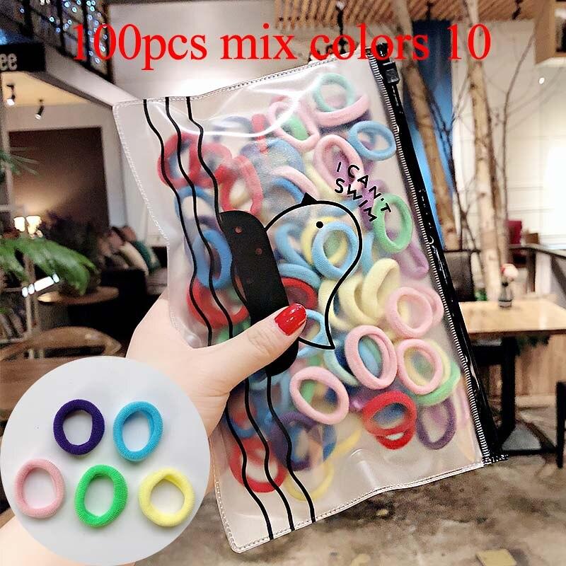 100pcs mix colors 10