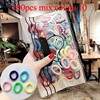 100pcs mix colors 10
