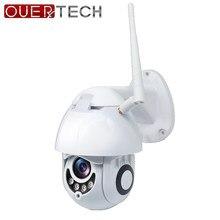 OUERTECH CCTV IP na zewnątrz kamera WiFi 1080P HD 2MP wykrywanie ruchu widzenie nocne z wykorzystaniem podczerwieni w pełnym kolorze gniazdo kart SD kamera kopułkowa