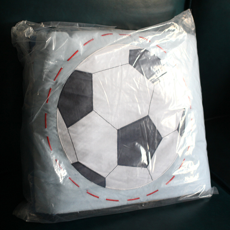 Bedding Kit Cotton Embroidery Three-piece Set Embroidery Kits Sports Boy Supplies 3 Pieces Quilt Pillow Bag