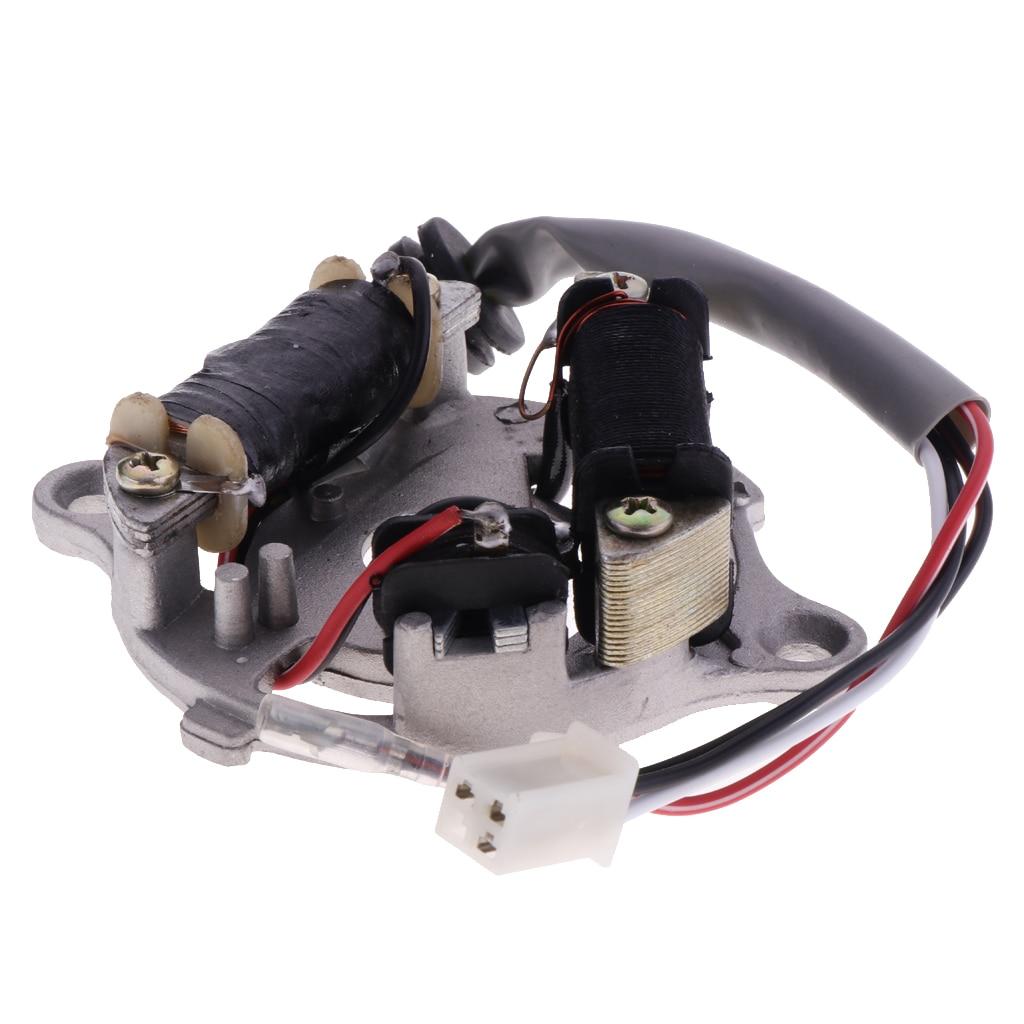 Bobina de encendido del Rotor de la placa del estator del Magneto de la motocicleta para Yamaha