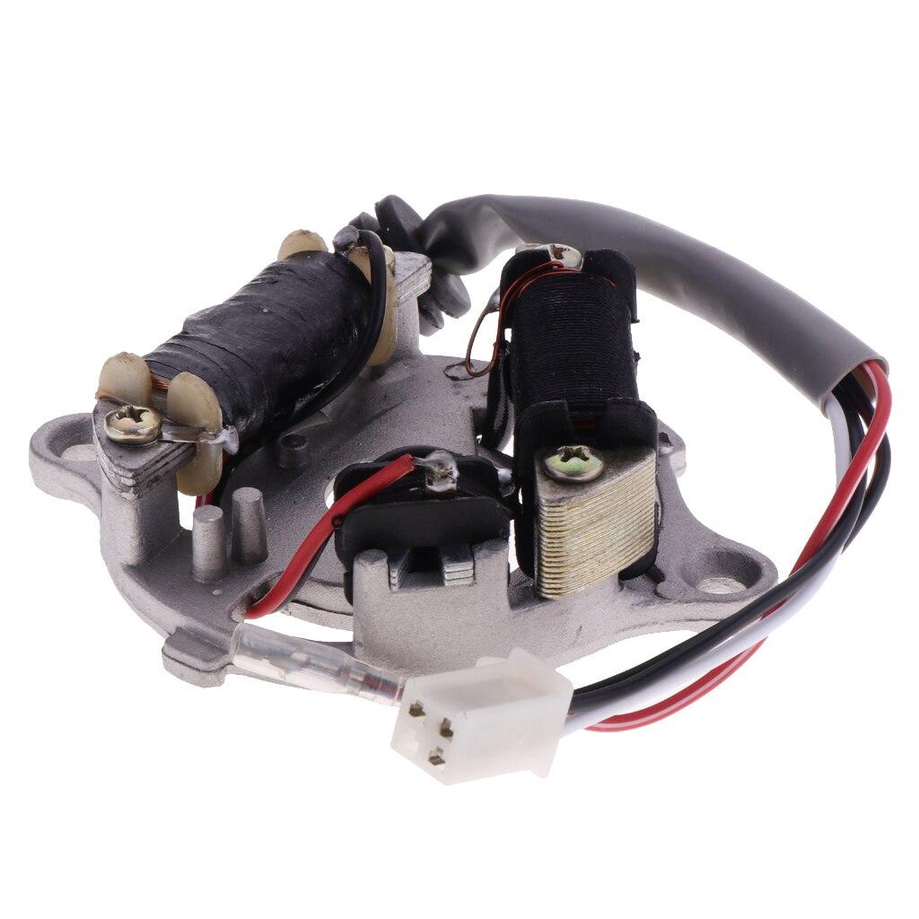 Motorrad Magneto Stator Platte Rotor Zündspule Für Yamaha