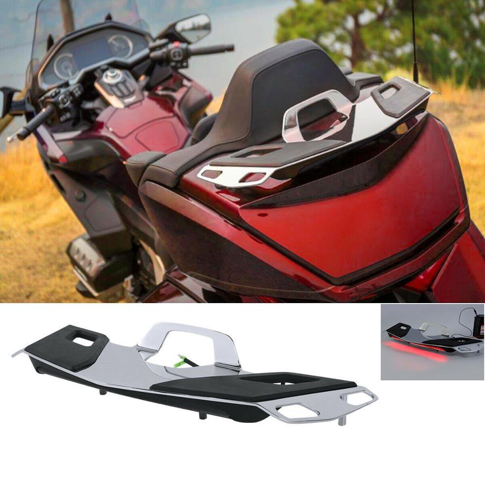 Motorcycle Rear Trunk luggage Rack LED Brake Light For Honda Goldwing GL1800 2019 2018-2020