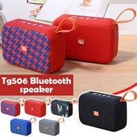 Tg506 Speakers Portable Bluetooth Speaker Wireless Soundbar Outdoor Hifi Subwoofer Support Tf Card Fm Radio Aux #3
