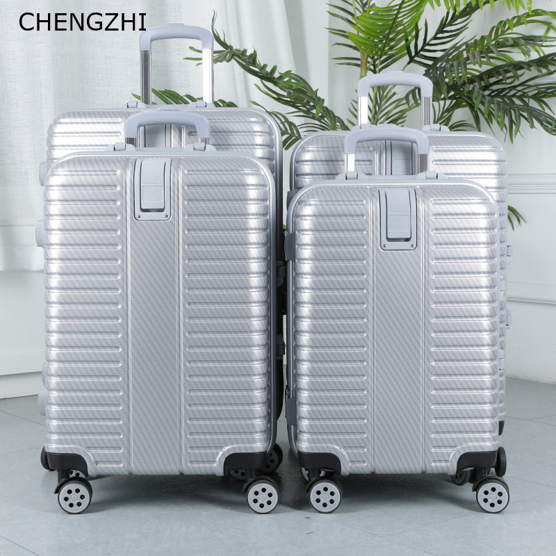 Spinner Trolley-Bag Wheel Travel-Suitcase Cabin Hardside Aluminium-Frame Women CHENGZHI