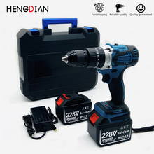 Impact drill electric screwdriver drilling machine cordless drill for makita battery 4.5Ah with BMC box two lithium batteries