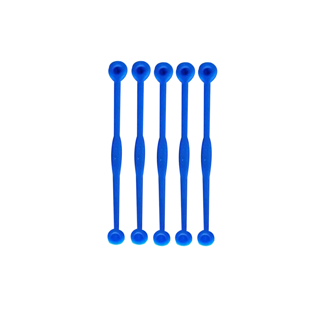 5pcs Portable Toys Squash Reduce Vibration Shock Absorber Long Hook Tennis Racket Damper Silicone Outdoor Games Accessories
