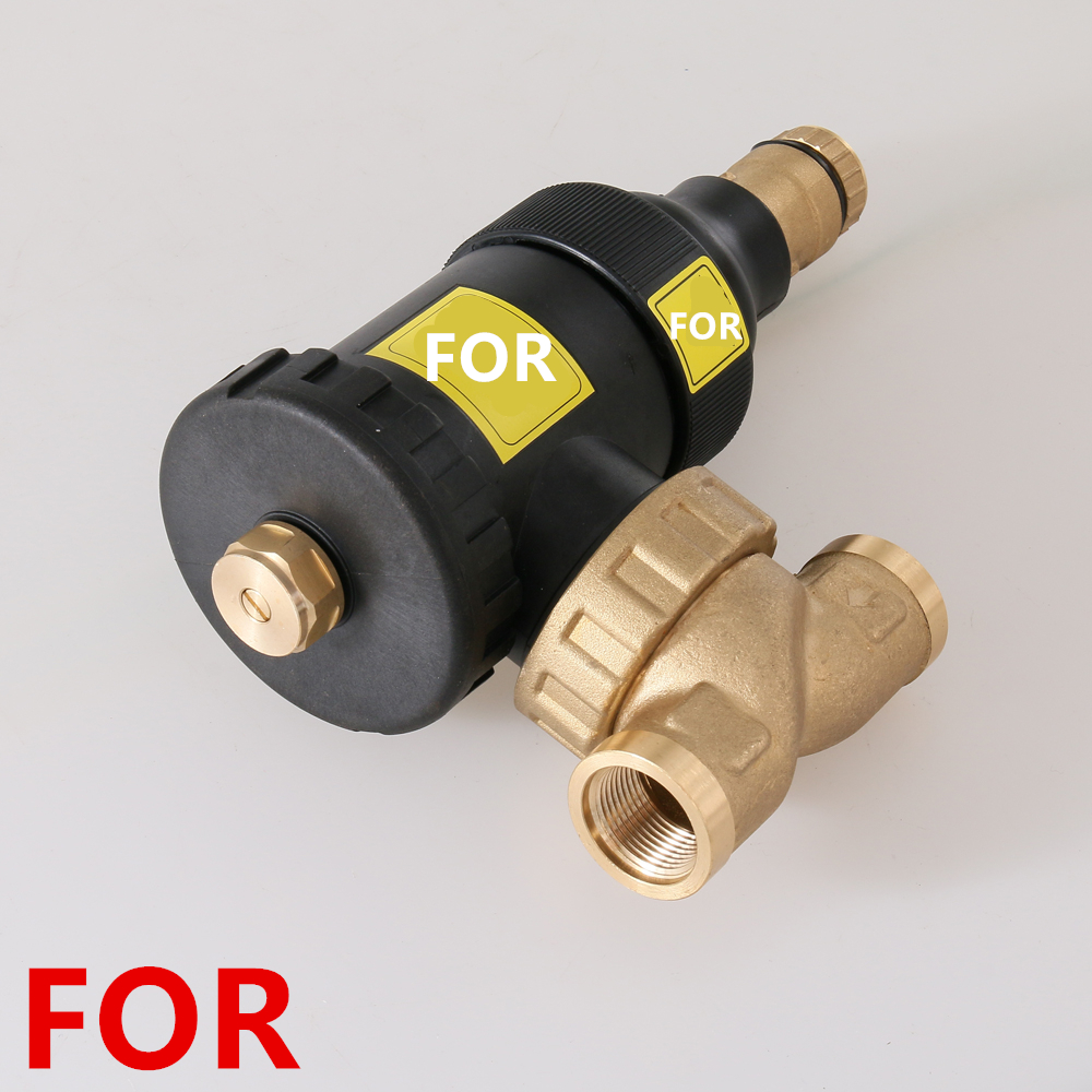 Wall-mounted Boiler Magnetic Filter Floor Heating System Descaler Protection Wall-mounted Boiler Scale Inhibitor Filter