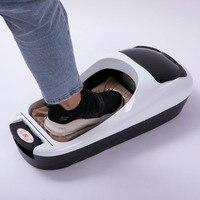 Автоматические Бахилы Диспенсер машина офисная Бытовая Крышка для ног машина одноразовый чехол для обуви пленка машина щетка для обуви