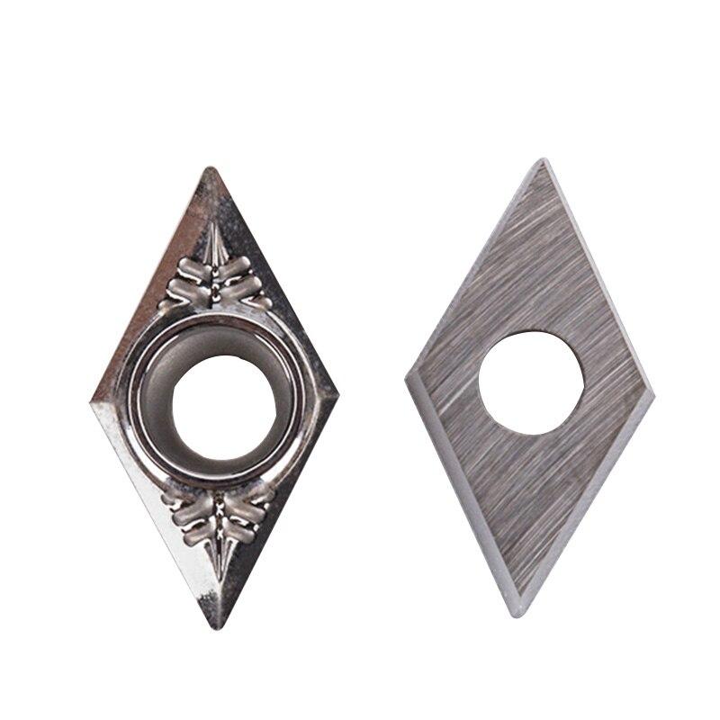10pcs DCGT070204 AK H01 Aluminum Insert  Carbide Internal Turning Tool CNC Lathe Turning Cutter For  Aluminum