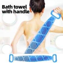 Волшебные силиконовые щетки банные полотенца расширенный скруббер