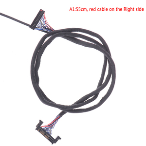 Image 5 - FIR E51PIN LVDS kablo 2 Ch 8 bit 51 Pins 51pin çift 8 LVDS kablo LCD Panel
