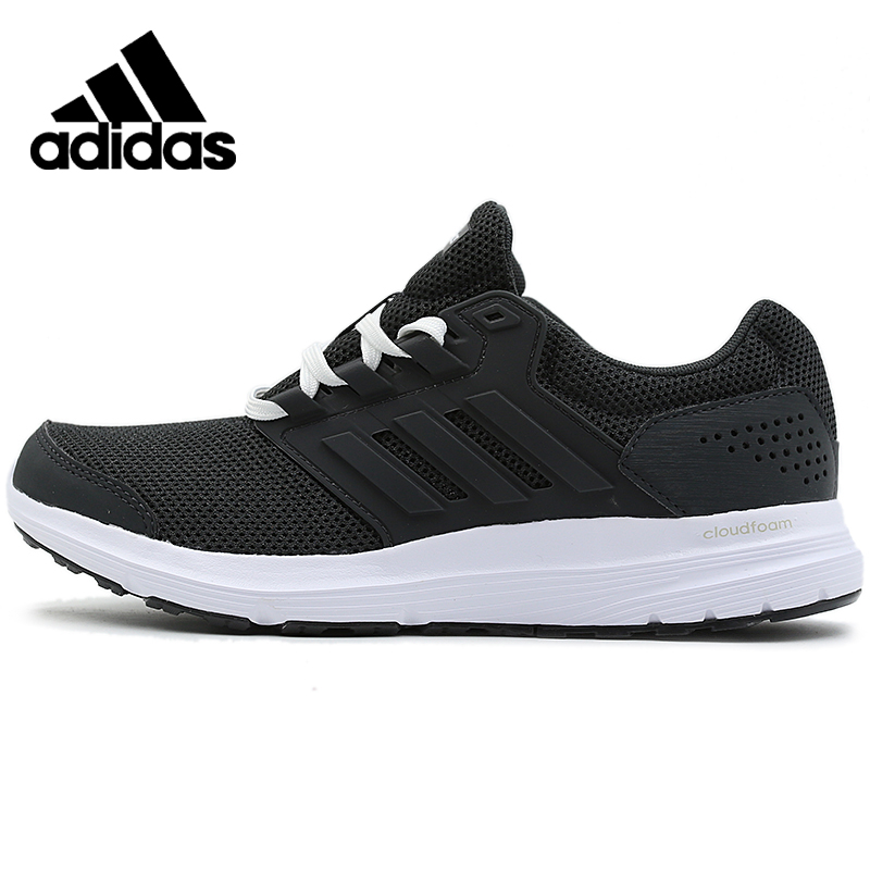 Original Adidas GALAXY 4 Womens Black Running Shoes Light Sneakers Outdoors Sports Suitable CP8833