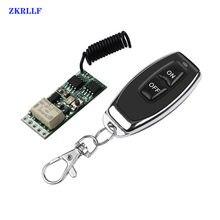3.7v mini rf interruptor remoto 433mhz 4.2v 5v 6v 7.4v 9v 12v nenhum com nc relé contato pedir pequeno relé contato interruptores sem fio