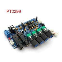 PT2399 Digitale Microfoon Versterker Boord Karaoke Galm Boord Karaoke Ok Versterker Module Dual AC12V