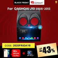 (Código de viernes negro: BF2020ES10) Junsun V1 Android 10,0 2GB + 32GB DSP Radio de coche Central Multimidia reproductor de Video GPS para Nissan Qashqai 1 J10 2006-2013 2 din dvd