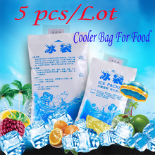 Cooler-Bags Lunch-Box Ice-Packs Cold Storage Wine Food Pain-Insulated Reusable Gel PE