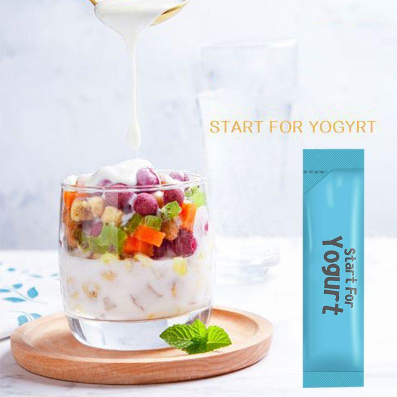 10g Yogurt Yeast Starter Natural 10 Types of Probiotics Home Made Lactobacillus Fermentation Powder Maker Homemade