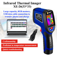 XEAST 2020 NEW XE 26/XE 26D 2.4 inch Color Screen Handheld Thermal Imaging Camera Infrared thermometer economic thermal imager