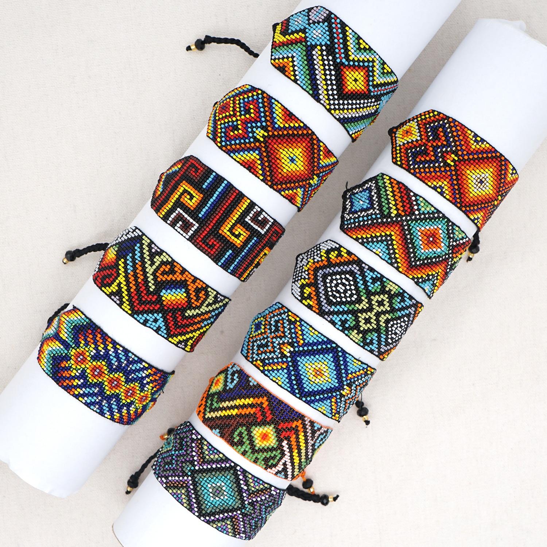 Go2boho Bead Wrap Bracelets For Women Jewelry Trendy Ethnic Pulsera Handmade Miyuki Beads Africa Jewellery Adjustable Bracelet