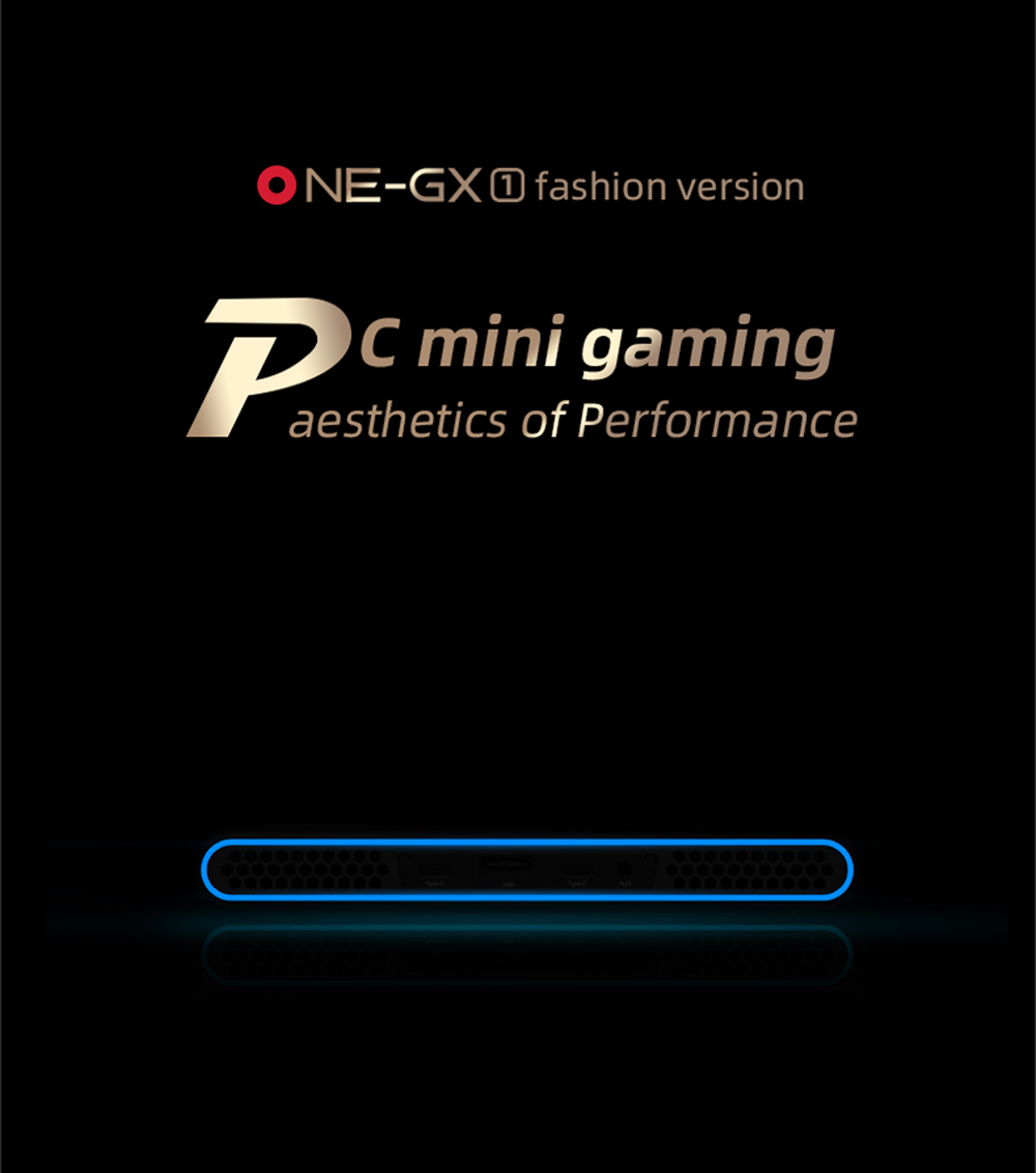 OneGx Gaming Laptop Mini PC 7'' Win10 i5-10210Y 8GB/16GB RAM 256GB/512GB SSD SIM 4G 5G WiFi Networking Portable Computer Netbook