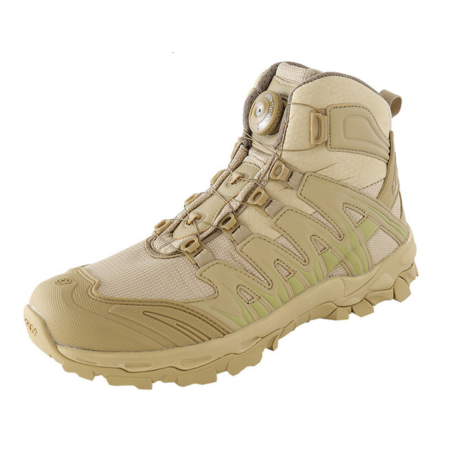 Upgraded Tactics Combat Training Boots Male Outdoors Camping Anti-wear Rapid Response Hiking Shoes Fishing Hunting Sneakers Men 2