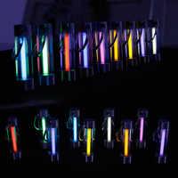 Tritium Gas Lampe schlüsselbund Tool Automatische Licht Schlüssel Ring Life Saving Notfall Lichter Für Outdoor Sicherheit und Überleben Werkzeuge
