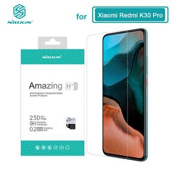 Redmi K30 Pro Glass Nillkin H H+Pro Screen Protector Tempered Glass for Xiaomi POCO F2 Pro X2 X3 NFC Redmi K30 Ultra Film