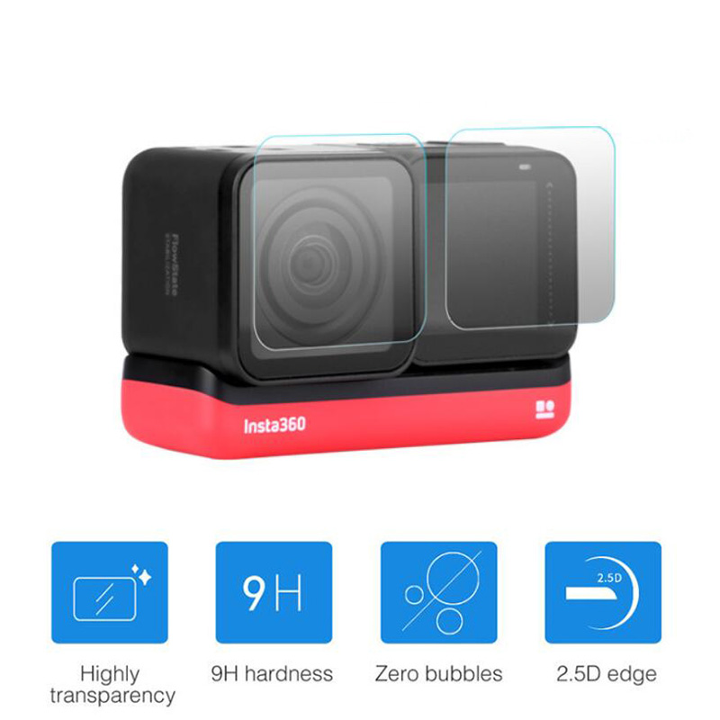 GoPro Hero 7 Black Lens housing 6x Transparent ULTRA Clear Screen Protector