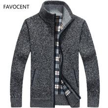 Cardigan en laine et fausse fourrure pour homme, manteau chaud, épais, tricoté, avec fermeture éclair, décontracté, collection automne hiver 2020
