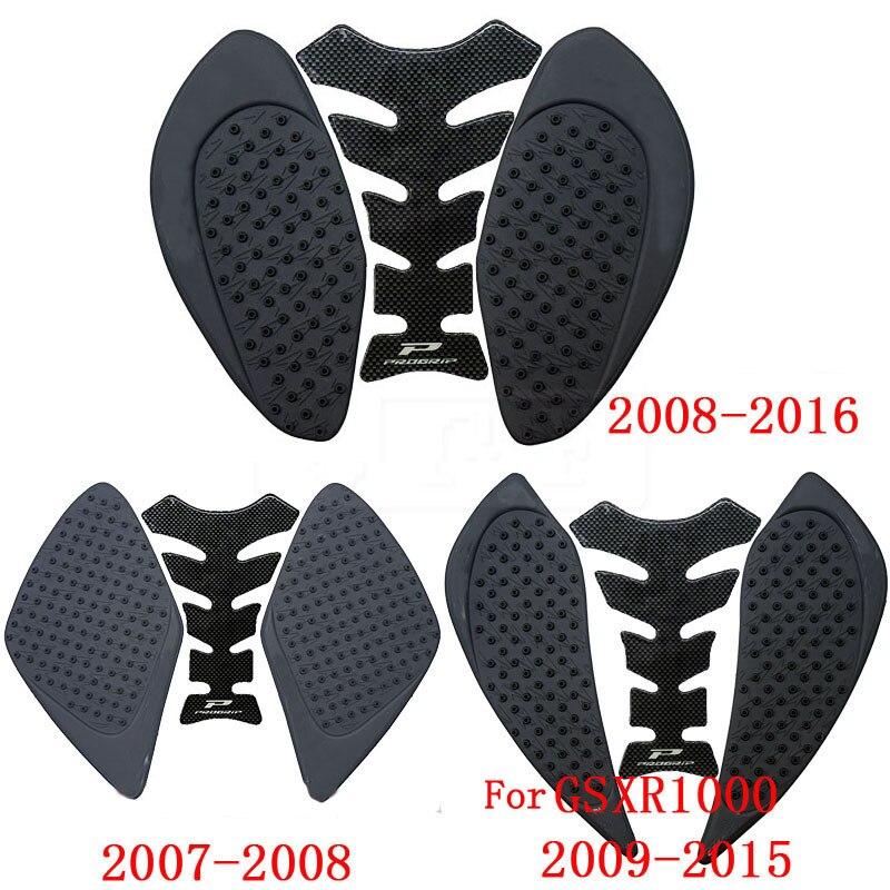 For Suzuki GSXR 1000 GSXR1000 2007-2016 K8 Hayabusa GSX1300R 1997 To 2017 2018 2019 Motorcycle Fiber Tank Pad Anti Slip Stickers