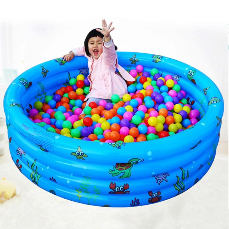 Inflatable Swimming <font><b>Pool</b></font> Piscina Portable Outdoor Children Basin Bathtub kids <font><b>pool</b></font> baby swimming <font><b>water</b></font> <font><b>pool</b></font> for kids Baby image