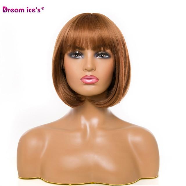 Купить волосы из синтетического волокна женский короткий парик прямые картинки