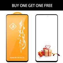 Protecteur décran, 2 pièces, couverture complète en verre trempé, HD, noir, pour Xiaomi Mi 9, MOFi SE
