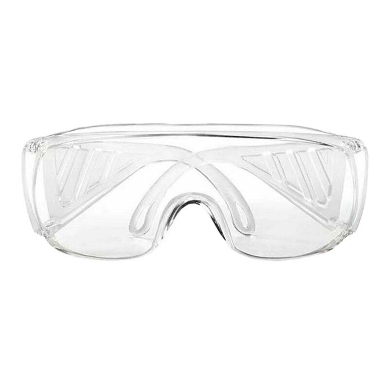Anti-Virus Goggle Labor Protection Splash-Proof Transparent Anti-Fog Sand-Proof Riding Anti-Shock Safety Glasses