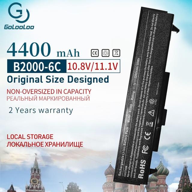 Аккумулятор 11,1 В 4400 мАч для LG LE50 LM LM40 LM50 LM60 LM70 LB32111B LB52113D LB52113B LHBA06ANONE LMBA06.AEX для HP B2000 B2026