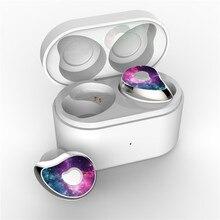 SE 6 Bluetooth אוזניות V5.0 TWS אלחוטי HD סטריאו ספורט אוזניות HIFI עמיד למים רעש מבטל משחקי אוזניות עם מיקרופון