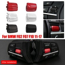 1 paar Multi funktion Lenkrad Schalter Tasten Key Control Knob Knopf Für BMW F02 F07 F10 2011 2017
