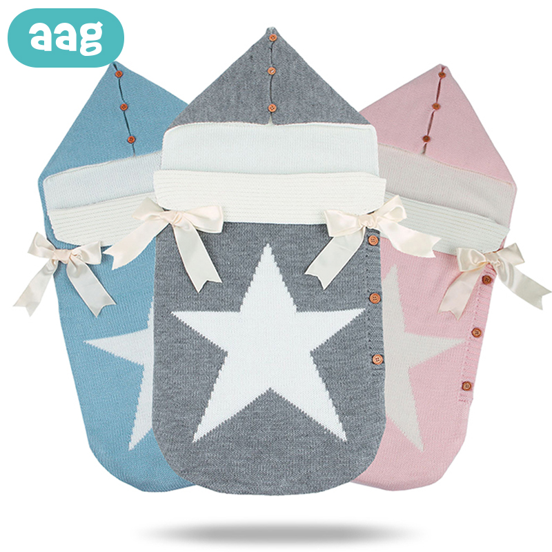 AAG Newborns Envelope For Discharge Baby Sleeping Bag Sack Diaper Cocoon For Newborns Maternity Hospital Discharge Kit