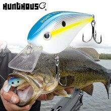 Hunthouse squarebill crankbait 65mm 16.5g flutuante isca de pesca manivela iscas iscas duras para baixo pique pesca de água doce lw902