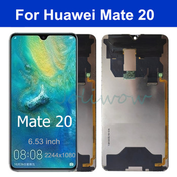 6.53'' Original Mate 20 lcd For Huawei Mate 20 LCD Display Touch Screen Digitizer Assembly For Huawei Mate20 Display фото