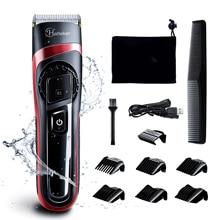 HATTEKER cortadora de pelo profesional para hombre, maquinilla eléctrica para cortar el pelo recargable, máquina de corte de pelo de alta calidad, tijeras de barbero