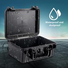 цена на ABS Plastic Waterproof Dry Box Safety Equipment Case Portable Tools Outdoor Survival Vehicle Toolbox Anti-collision Container #D