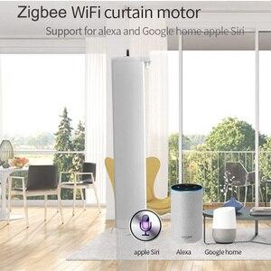 Image 4 - WIFI Zigbee וילון חשמלי מנוע, tuya חכם בית app שלט/שליטה קולית תואם באמצעות alexa הד ו google בית