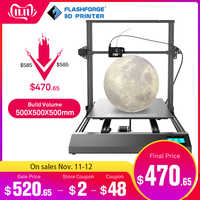 Flashforge THor DIY kit 3D Drucker Große Größe 500*500*500mm hohe präzision 3D Drucker
