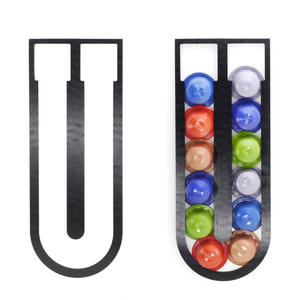 FILTER-HOLDER Nespresso-Capsule-Storage Dispenser Tower-Stand-Fit Coffee 10PCS