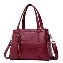 Heißer Verkauf Frauen Casual Tote Tasche Weibliche Handtasche Große Große Schulter Tasche für Frauen Tote Damen Vintage Echtem Leder Crossbody tasche