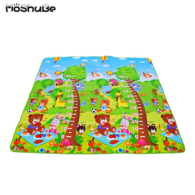 Baby Crawling Mat Folding Outdoor Indoor Kids Carpet Moisture-proof Children's Rug Game Gym Playmat Toys Anti-slip Picnic Pad