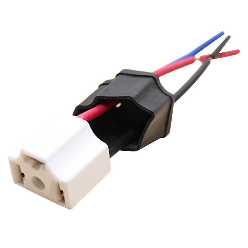 Ceramic Automotive Headlight Connector Plug 9003 H4 Lamp Bulb Xenon USA SELLER